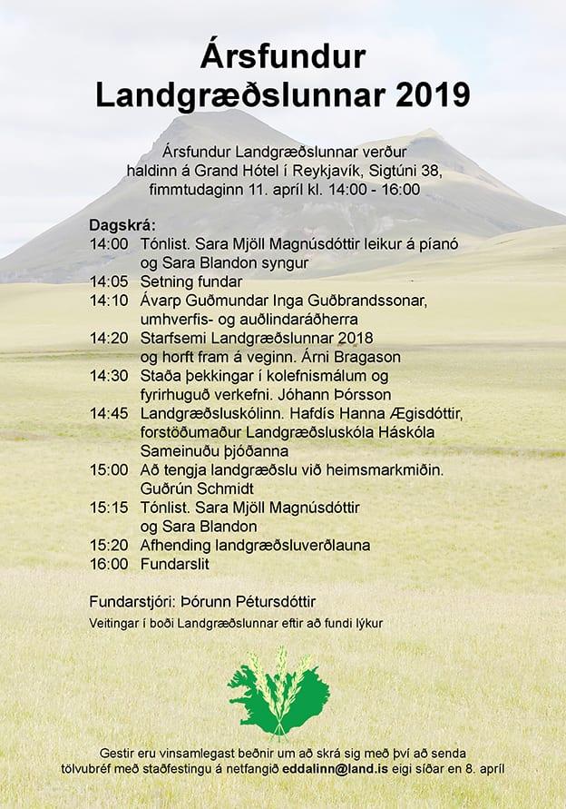 Ársfundur Landgræðslunnar